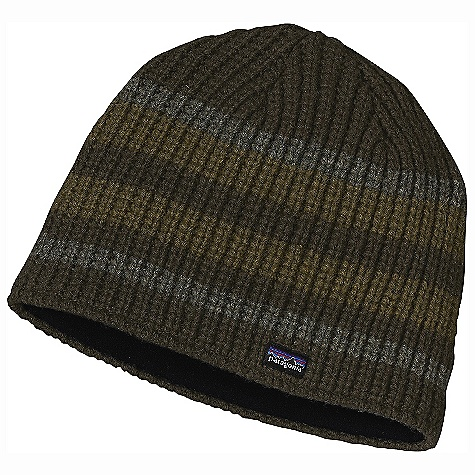 Entertainment Patagonia Speedway Beanie DECENT FEATURES of the Patagonia Speedway Beanie Warm and comfortable chlorine-free merino wool/nylon blend Fully lined, lightweight and moisture-wicking polyester fleece Great texture and stripes The SPECS Weight: 2.9 oz / 82 g 80% chlorine-free wool 20% nylon This product can only be shipped within the United States. Please don't hate us. - $39.00