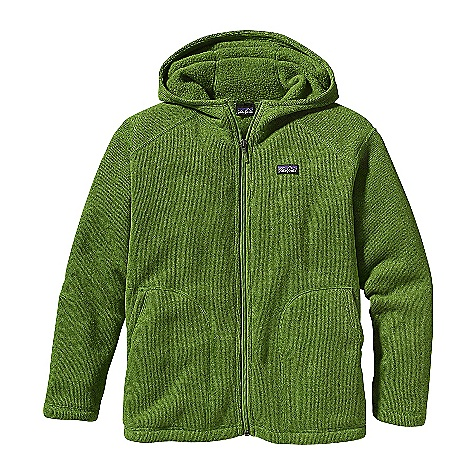 Free Shipping. Patagonia Boy's Better Sweater Hoody DECENT FEATURES of the Patagonia Boy's Better Sweater Hoody Fabric has a sweater-knit face with a fleece interior and heathered over dyedyarns Contoured hood for comfortable fit Raglan sleeves Two handwarmer pockets Hand-me-down ID label inside The SPECS Regular fit Weight: 13.8 oz / 391 g 9.5-oz 100% polyester with a sweater-knit face and fleece interior This product can only be shipped within the United States. Please don't hate us. - $85.00
