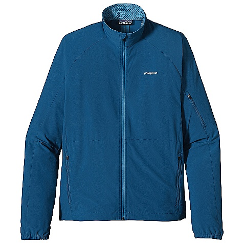 On Sale. Free Shipping. Patagonia Men's Traverse Jacket DECENT FEATURES of the Patagonia Men's Traverse Jacket Durable recycled polyester/spandex blend with a Deluge DWR finish Strategic seam placement with minimal bulk for unrestricted movement Longer sleeve with shaped cuff provides extra coverage for hand Slight drop tail The SPECS Slim fit Weight: 9.5 oz / 269 g 4.7-oz 93% all-recycled polyester 7% spandex with a Deluge DWR finish This product can only be shipped within the United States. Please don't hate us. - $76.99