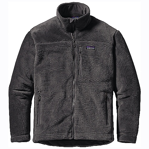 On Sale. Free Shipping. Patagonia Men's R4 Jacket DECENT FEATURES of the Patagonia Men's R4 Jacket R4 fabric is windproof, superwarm and stretchy Jacket has a refined fit, underarm gussets and offset shoulder seams for comfort under a pack All seams have Sonic/Stitch seam construction to reduce bulk and improve suppleness Brushed tricot on inner collar; soft, kissing-welt zipper garage at chin for next-to-skin comfort One left chest pocket and two hand pockets have Slim Zip installs and clean finished zipper garages two internal drop-in mesh pockets Single-pull adjustable hem The SPECS Regular fit Weight: 17 oz / 482 g 13-oz Polartec Windbloc 100% polyester highloft exterior with a stretchy windproof laminate and an R2 grid fleece interior This product can only be shipped within the United States. Please don't hate us. - $180.99