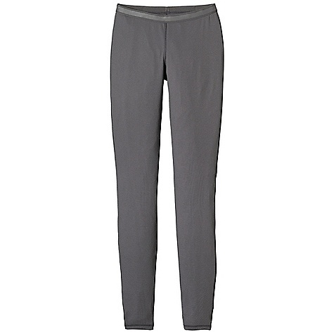 On Sale. Patagonia Women's Capilene 2 Lightweight Bottoms DECENT FEATURES of the Patagonia Women's Capilene 2 Lightweight Bottoms Open knit promotes airflow, is naturally stretchy and provides excellent wicking for endurance activities in cool to moderate temperatures Our fastest-drying baselayer fabric insulates enough for use on chilly days and can be worn beneath other layers Elastic waistband brushed for next-to-skin softness Side seams set forward for better fit and freedom from chafe Gusseted crotch for unimpeded mobility Machine-wash cold, tumble dry at low temperature The SPECS Slim fit Weight: 4.3 oz / 121 g 4-oz 100% polyester (54% recycled) circular knit, with Gladiodor odor control for the garment This product can only be shipped within the United States. Please don't hate us. - $31.99