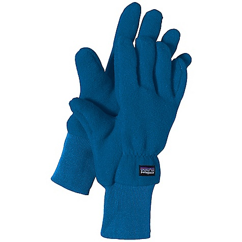 The Kid's Synchilla Gloves by Patagonia. Patagonia's durable and warm Kid's Synchilla Gloves, made of soft 100% polyester (85% recycled) double-faced fleece, feature ribbed cuffs for easy on/off and they coordinate with Patagonia's Kid's tops and bottoms. Features of the Patagonia Kids' Synchilla Gloves Warm recycled polyester double-faced fleece Soft ribbed cuffs slip on easily and grip well Durable construction Fleece fabric is bluesign approved - $20.99