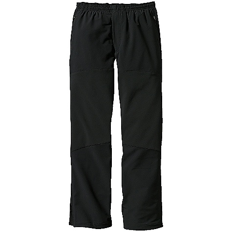 Free Shipping. Patagonia Men's Integral Pants DECENT FEATURES of the Patagonia Men's Integral Pants Versatile soft-shell pants combine breathable double-weave fabric and strategically placed windproof panels for protection Deluge DWR (durable water repellent) finish Fabric sanded on inside for improved moisture management and next-to-skin comfort Pull-on waistband has an internal drawcord and brushed elastic for next-to-skin comfort Two zippered handwarmer pockets Articulated front windproof panels protect thighs and knees Ankle zip and a stretch gusset for adjustable fit and easy on/off Straight leg The SPECS Slim fit Weight: 16.8 oz / 476 g Body: 9-oz 75-denier 91% polyester, 9% spandex double weave Front Thigh and Knee Panels: 3-layer, 9.6-oz 70-denier 86% polyester, 14% spandex Waist, Knee and Ankle Gussets: 9-oz 75-denier 91% recycled polyester, 9% spandex plain weave All have a Deluge DWR (durable water repellent) finish This product can only be shipped within the United States. Please don't hate us. - $119.00