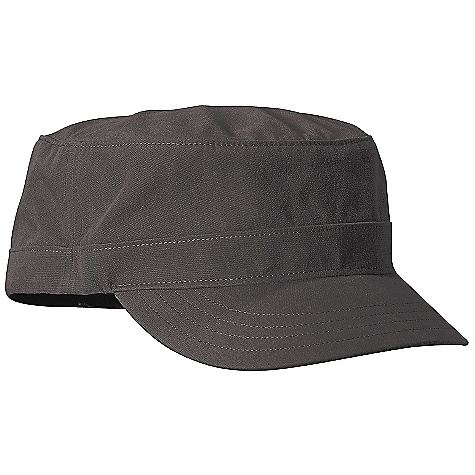 Patagonia Cadet Cap DECENT FEATURES of the Patagonia Cadet Cap Updated Organic Cotton Canvas Fabric is Now Softer Short Brim Still Provides Plenty of Shade Alpha Sized for Best fit The SPECS Regular fit Weight: 2.9 oz / 82 g 5.2 oz 100% Organic Cotton Canvas Recyclable Through The Common Threads Recycling Program This product can only be shipped within the United States. Please don't hate us. - $29.00