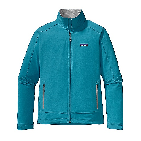 Free Shipping. Patagonia Women's Simple Guide Jacket DECENT FEATURES of the Patagonia Women's Simple Guide Jacket Highly breathable and wind-resistant stretch-woven soft-shell is treated with a Deluge DWR (durable water repellent) finish Micro fleece-lined neck and wind flap for next-to-the-skin comfort Zippered hand warmer pockets Hook-and-loop cuff closures for a secure fit Draw cord hem The SPECS Regular fit Weight: 14.8 oz / 419 g 6.2 oz 91% all-recycled polyester, 9% spandex double weave, with a Deluge DWR (durable water repellent) finish This product can only be shipped within the United States. Please don't hate us. - $119.00