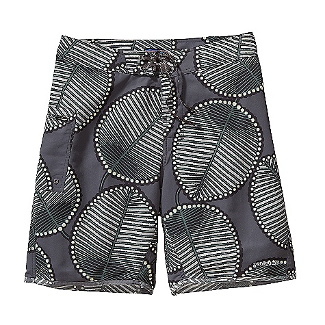 Surf Free Shipping. Patagonia Men's Paddler Board Shorts DECENT FEATURES of the Patagonia Men's Paddler Board Shorts Recyclable, lightweight nylon with a DWR finish is durable and quick-drying Board shorts have a 3-piece, self-lined waistband that contours to the hip, and a flat-lying fly with a single rubber button and ladder-lock drawstring closure Liner, attached at inseam and out seam, reduces chafe and provides quick drainage Zippered horizontal pocket on right thigh is self-draining and has a non-corrosive recyclable plastic zipper and an internal key loop Reversed-out seams at hem reduce chafing Hem hits just above the knee The SPECS Regular fit Inseam: 9in., Outseam: 19in. Weight: 6.7 oz / 189 g 4.3-oz 100% Supplex nylon with a DWR durable water repellent) finish Lining: 2.3-oz 100% all-recycled polyester This product can only be shipped within the United States. Please don't hate us. - $69.00