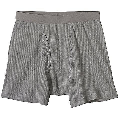Patagonia Men's Capilene 2 Lightweight Boxer Briefs DECENT FEATURES of the Patagonia Men's Capilene 2 Lightweight Boxer Briefs Moisture-wicking Capilene 2 Lightweight polyester (54% recycled) fabric with an open-knit weave for breathability, with Gladiodor odor control for the garment Brushed elastic waistband for next-to-skin softness Supportive front panel Coverstitched hem won't restrict mobility and glides easily under shorts or pants The SPECS Formfitting Weight: 2.5 oz / 71 g Inseam: Medium: 5in. 4-oz 100% polyester (54% recycled) with moisture-wicking performance and Gladiodor odor control for the garment This product can only be shipped within the United States. Please don't hate us. - $30.00
