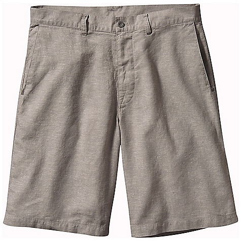 Free Shipping. Patagonia Men's Back Step Shorts DECENT FEATURES of the Patagonia Men's Back Step Shorts Made of a lightweight hemp and organic cotton blend Zip fly with button closure belt loops Pockets: Two front, slash one rear inset with welt The SPECS Regular fit Inseam: 10in. 4-oz 55% hemp/45% organic cotton plain weave This product can only be shipped within the United States. Please don't hate us. - $59.00