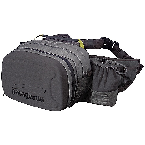 Entertainment Free Shipping. Patagonia Stormfront Hip Pack DECENT FEATURES of the Patagonia Stormfront Hip Pack Waterproof, fully welded pod with waterproof/corrosion-proof main zipper 3D spacer-mesh back panel wicks moisture, dries quickly and allows air to circulate Interior zippered security pockets secure keys, wallet and accessories The SPECS Weight: 15.3 oz / 434 g Volume: 488 cubic inches / 8 liter Outer Pack: 840-denier 100% nylon double coat with a polyurethane film and a DWR (durable water repellent) finish Back Panel: 3D 100% spacer-mesh nylon This product can only be shipped within the United States. Please don't hate us. - $199.00
