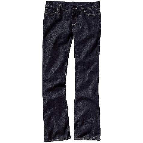 On Sale. Free Shipping. Patagonia Women's Low Rise Bootcut Jeans DECENT FEATURES of the Patagonia Women's Low Rise Bootcut Jeans Organic cotton denim with stretch for fit and comfort Classic 5-pocket-jean styling Zip fly with button shank closure Pocket bags are made of organic cotton polyester twill with a bandana-style indigo print These denim jeans will fit snug initially but will stretch and conform to your body with wear The SPECS Slim fit Weight: 20.8 oz / 589 g Low rise Boot cut Inseam: regular: 32in., long: 34in. 11-oz 98% organic cotton, 2% spandex denim This product can only be shipped within the United States. Please don't hate us. - $56.99