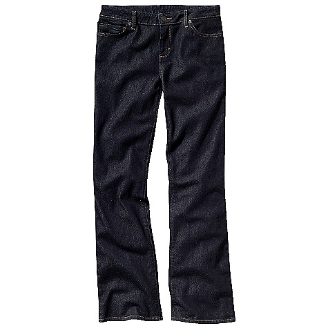 Free Shipping. Patagonia Women's Regular Rise Bootcut Jeans DECENT FEATURES of the Patagonia Women's Regular Rise Bootcut Jeans Organic cotton denim with stretch for fit and comfort Classic 5-pocket-jean styling Zip fly with button shank closure Pocket bags are made of an organic cotton, polyester twill with a bandana-style indigo print These denim jeans will fit snug initially, but will stretch and conform to your body with wear The SPECS Slim fit Weight: 21.7 oz / 615 g Regular rise Boot cut Inseam: regular: 32in., long: 34in. 11 oz 98% organic cotton 2% spandex denim This product can only be shipped within the United States. Please don't hate us. - $89.00