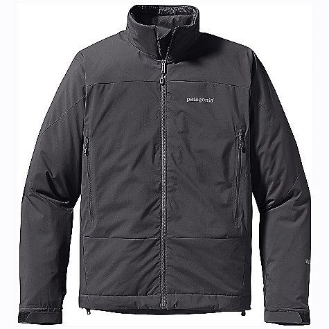 On Sale. Free Shipping. Patagonia Men's Solar Wind Jacket DECENT FEATURES of the Patagonia Men's Solar Wind Jacket Gore Wind stopper fabric combined with 60-g Prim aloft Eco insulation is warm, compressible and highly weather-resistant Interior quilting stabilizes insulation Harness-and pack-compatible hand warmer pockets with reverse-coil zippers internal zippered security pocket Touch Point System has embedded cord lock hem for quick adjustment to seal out weather Low-profile gusset cuffs create a tight wrist seal The SPECS Regular fit Weight: 18.2 oz / 516 g 2.8-oz Gore Wind stopper 100% nylon Insulation: 60-g Prim aloft Eco 100% polyester (70% recycled) Lining: 1.4-oz 20-denier 100% polyester ripstop This product can only be shipped within the United States. Please don't hate us. - $148.99