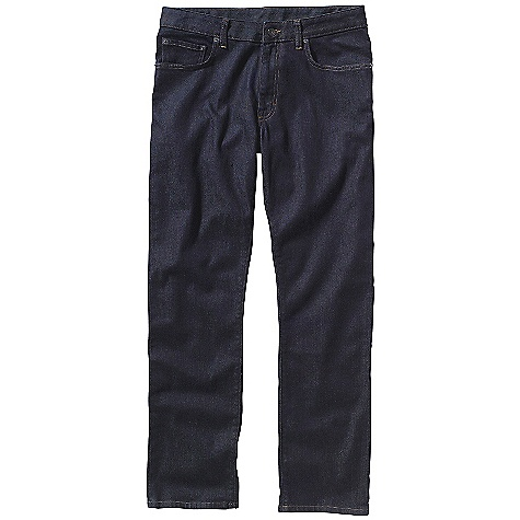 On Sale. Free Shipping. Patagonia Men's Straight Jean DECENT FEATURES of the Patagonia Men's Straight Jean Durable organic cotton denim with stretch Our slimmest 5-pocket jeans with rear yoke belt loops metal shank button closure with zip fly The SPECS Slim fit Inseam: short: 30in., regular: 32in., long: 34in. Dark Wash: 11-oz 98% organic cotton 2% spandex denim Light Grey Wash: 9.5-oz 99% organic cotton 1% spandex denim This product can only be shipped within the United States. Please don't hate us. - $70.99