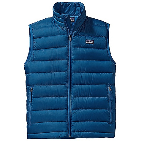 Free Shipping. Patagonia Kid's Down Sweater Vest DECENT FEATURES of the Patagonia Kids' Down Sweater Vest Lightweight and wind-resistant polyester shell has high tear-strength with a Deluge DWR finish Lightweight and highly compressible 600-fill-power premium European goose down Full-length zipper with zipper garage and wind flap Two hand warmer pockets with reflective zipper pulls Internal draw cord at hem Comfortable quilt-through construction Hand-me-down ID label The SPECS Relaxed fit Weight: 6.8 oz / 193 g Shell: 1.4-oz 20-denier polyester mini-ripstop Lining: 2-oz 100% polyester plain weave Both with a Deluge DWR finish Insulation: 600-fillpower premium European goose down This product can only be shipped within the United States. Please don't hate us. - $89.00