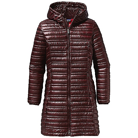 On Sale. Free Shipping. Patagonia Women's Ultralight Fiona Parka DECENT FEATURES of the Patagonia Women's Ultralight Fiona Parka Ultra lightweight and translucent 100% nylon ripstop fabric with a Deluge DWR finish Superlight fabric with high tear-strength asymmetrical, quilted construction Full-length two-way zipper On-seam hand warmer pockets interior drop-in pockets Princess seams front and back Above-the-knee length The SPECS Slim fit Weight: 10.4 oz / 295 g 0.8-oz 100% nylon ripstop with a Deluge DWR (durable water repellent) finish Insulation: 800-fill-power premium European goose down This product can only be shipped within the United States. Please don't hate us. - $318.99
