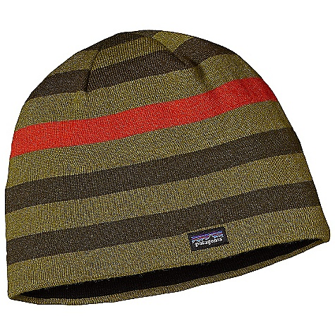 Entertainment On Sale. Patagonia Beanie Hat DECENT FEATURES of the Patagonia Beanie Hat Made of a Warm, Moisture-Wicking Nylon/Wool Blend 2-Layer Construction for Excellent Fit, Durability and Comfort Polyester Knit Band Liner Prevents Itch, Wicks and is Quick-To-Dry Lightweight and Stuffable Fun Patterns The SPECS Weight: 2.9 oz / 82 g 55% Nylon, 45% Chlorine-Free Merino Wool This product can only be shipped within the United States. Please don't hate us. - $23.99