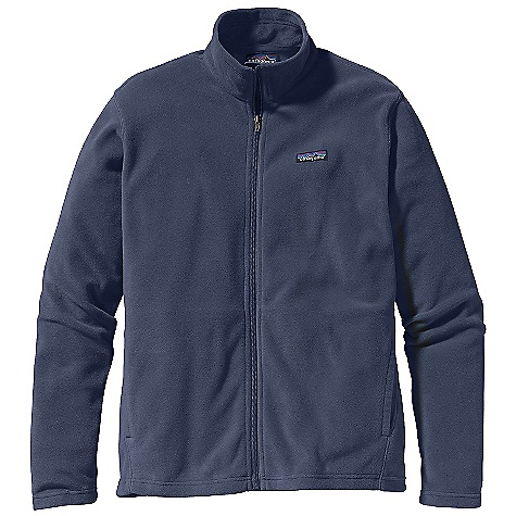 Free Shipping. Patagonia Men's Micro - D Jacket DECENT FEATURES of the Patagonia Men's Micro-D Jacket Ultrasoft, Quick-Dry, Microdenier Polyester Fleece Full-Zip Jacket with Stand-Up Collar and Supplex Nylon Wind Flap Pockets: Two Handwarmers On Forward Side Seams Are Lined with Super-Micro Polyester Brushed Jersey Hip Length The SPECS Regular fit Weight: 10.2 oz / 289 g 4.7 oz 100% Microdenier Polyester (85% Recycled) Fleece Trim: 100% Supplex Nylon This product can only be shipped within the United States. Please don't hate us. - $75.00