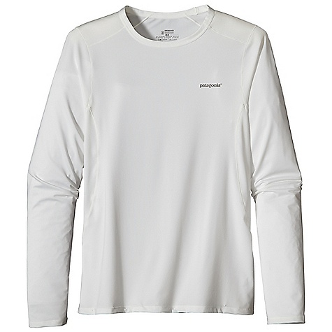 On Sale. Patagonia Men's Capilene 1 SW Stretch Crew DECENT FEATURES of the Patagonia Men's Capilene 1 Sw Stretch Crew Superior Stretch and Moisture Management 50+ UPF Sun Protection Durable Smooth Jersey Face is Comfortable Against The Skin Self-Fabric Crewneck Seams Offset for Maximum Mobility with Minimum Chafe Reflective Heat-Transfer Logo on Front and Center Back Machine-Wash Cold, Tumble Dry At Low Temperature The SPECS Slim fit Weight: 8.5 oz / 240 g 5.1 oz 84% Polyester, 16% Spandex Jersey, with 50+ UPF Sun Protection and Gladiodor Odor Control for The Garment This product can only be shipped within the United States. Please don't hate us. - $24.99