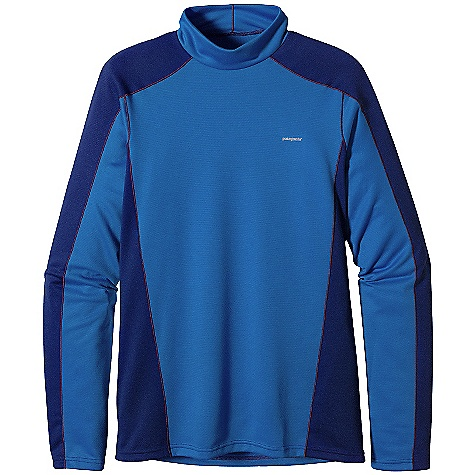 Free Shipping. Patagonia Men's Capilene 3 MW Mock Neck DECENT FEATURES of the Patagonia Men's Capilene 3 Midweight Mock Neck Stretchy, Double-Weave Fabric Wicks Extremely Well Durable Smooth Jersey Face Slides Easily Beneath Layers Fabric is Brushed for Warmth, Softness and Compressibility Provides Excellent Insulation and Breathability Raglan Sleeves and Underarm Panels Placed Strategically to Provide Full Range of Motion and Comfort Under Layers Straight Hem Cut Long Enough to Tuck In Machine-Wash Cold, Tumble Dry At Low Temperature The SPECS Slim fit Weight: 7.7 oz / 218 g Solids: 5.4 oz Polartec Power Dry 100% Polyester (65% Recycled) Double-Knit Heathers: 5.4 oz Polartec Power Dry 100% Polyester (51% Recycled) Double-Knit Both Have Gladiodor Odor Control for The Garment This product can only be shipped within the United States. Please don't hate us. - $55.00