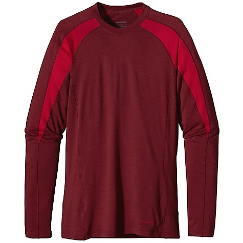 Free Shipping. Patagonia Men's Merino 2 LW Crew DECENT FEATURES of the Patagonia Men's Merino 2 Lw Crew Merino Wool/Polyester Blend Keeps You Dry and Comfortable Even When Wet, is Stronger and More Durable than 100% Wool, has a Softer Hand, Naturally Controls Odor, and Wicks Perspiration 18.9 Micron-Gauge Yarn and Jersey-Knit Construction Self-Fabric Collar Band for Comfort Raglan Sleeve Seams Won'T Chafe Beneath Pack Straps Side Seams Offset to Eliminate Irritation Slow-Washed without Chlorine to Prevent Shrinkage Bluesign Approved Machine-Wash Cold, Tumble Dry at Low Temperature The SPECS Slim fit Weight: 7.4 oz / 209 g 4.9 oz / 165-g 80% Chlorine-Free Merino Wool, 20% Polyester (100% Recycled) This product can only be shipped within the United States. Please don't hate us. - $75.00