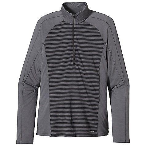 Free Shipping. Patagonia Men's Merino 2 LW Zip - Neck DECENT FEATURES of the Patagonia Men's Merino 2 Lw Zip - Neck Merino Wool/Polyester Blend Keeps You Dry and Comfortable Even When Wet, is Stronger and More Durable than 100% Wool, has a Softer Hand, Naturally Controls Odor, and Wicks Perspiration 18.9 Micron-Gauge Yarn and Jersey-Knit Construction Top and Bottom Of Zipper Covered for Next-To-Skin Comfort Raglan Sleeve Seams Won'T Chafe Beneath Pack Straps Wide Cuff Band Helps Keep Sleeves In Place When Pulled Up Side Seams Offset to Eliminate Irritation Slow-Washed without Chlorine to Prevent Shrinkage Bluesign Approved Machine-Wash Cold, Tumble Dry at Low Temperature The SPECS Slim fit Weight: 8.1 oz / 229 g 4.9 oz / 165 G 80% Chlorine-Free Merino Wool, 20% Polyester (100% Recycled) This product can only be shipped within the United States. Please don't hate us. - $85.00