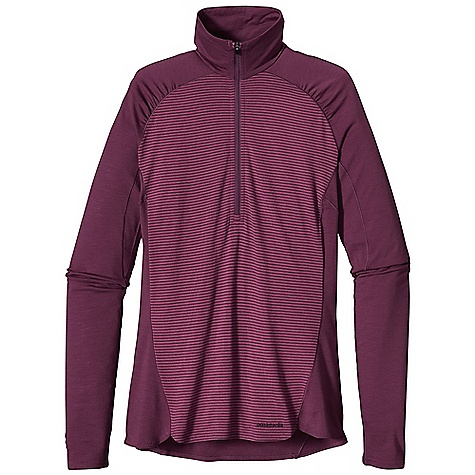 Free Shipping. Patagonia Women's Merino 2 LW Zip Neck DECENT FEATURES of the Patagonia Women's Merino 2 Lw Zip Neck Merino Wool/Polyester Blend Keeps You Dry and Comfortable Even When Wet, is Stronger and More Durable than 100% Wool, has a Softer Hand, Naturally Controls Odor, and Wicks Perspiration 18.9 Micron-Gauge Yarn and Jersey-Knit Construction Top and Bottom Of Zipper Covered for Next-To-Skin Comfort Raglan Sleeve Seams Won'T Chafe Beneath Pack Straps Wide Cuff Band Helps Keep Sleeves In Place When Pulled Up Side Seams Offset to Eliminate Irritation Slow-Washed without Chlorine to Prevent Shrinkage Bluesign Approved Machine-Wash Cold, Tumble Dry at Low Temperature The SPECS Slim fit Weight: 6.7 oz / 189 g 4.9 oz / 165 G 80% Chlorine-Free Merino Wool, 20% Polyester (100% Recycled) This product can only be shipped within the United States. Please don't hate us. - $85.00