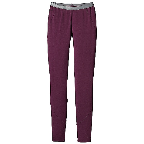 Free Shipping. Patagonia Women's Merino 3 MW Bottoms DECENT FEATURES of the Patagonia Women's Merino 3 Mw Bottoms Merino Wool/Polyester Blend Keeps You Dry and Comfortable Even When Wet, is Stronger and More Durable than 100% Wool, has a Softer Hand, Naturally Controls Odor, and Wicks Perspiration 18.9 Micron-Gauge Yarn and Jersey-Knit Construction Spandex for Added Stretch Brushed Elastic Waistband for Low Bulk and Next-To-Skin Softness Gusseted Crotch for Unrestricted Movement Slow-Washed without Chlorine to Prevent Shrinkage Bluesign Approved Machine-Wash Cold, Tumble Dry at Low Temperature The SPECS Slim fit Weight: 8.5 oz / 240 g 7.8 oz / 265 G 78% Chlorine-Free Merino Wool, 19% Polyester (100% Recycled/ 3% Spandex) This product can only be shipped within the United States. Please don't hate us. - $89.00