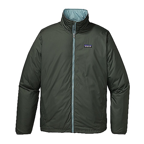 Free Shipping. Patagonia Men's Tasker Jacket DECENT FEATURES of the Patagonia Men's Tasker Jacket Versatile, wind- and weather-resistant shell made of 100% recycled polyester, with 60-g Thermo green recycled polyester insulation Full-zip jacket with wind flap and stand-up collar Spandex binding on cuffs Pockets: Two zippered handwarmers on forward side seams and an internal zippered left-chest pocket all lined with micro fleece Quilted liner Straight hem with elasticized drawcord waist Hip length The SPECS Regular fit Weight: 18.6 oz / 527 g 2.3-oz 100% recycled polyester plain weave with a DWR durable water repellent) finish Insulation: 60-g Thermo green 100% polyester 90% recycled) This product can only be shipped within the United States. Please don't hate us. - $119.00