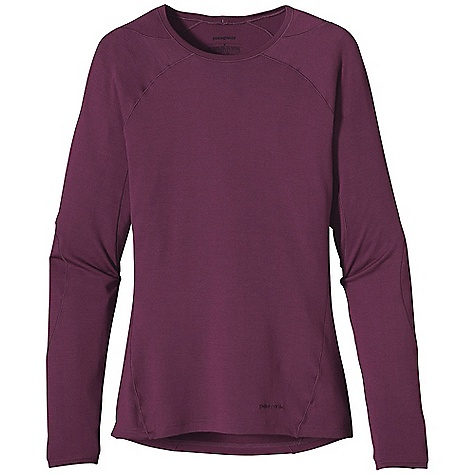 Free Shipping. Patagonia Women's Merino 3 MW Crew DECENT FEATURES of the Patagonia Women's Merino 3 Mw Crew Merino Wool/Polyester Blend Keeps You Dry and Comfortable Even When Wet, is Stronger and More Durable than 100% Wool, has a Softer Hand, Naturally Controls Odor, and Wicks Perspiration 18.9 Micron-Gauge Yarn and Jersey-Knit Construction Raglan Shoulder and Sleeve Detail Seams Are Offset to Prevent Chafing Under Layers and Packs Underarm Panels with Offset Seams Maximize Range Of Motion and Comfort Hidden Thumb Loop at Cuff for Extra Hand Protection Slow-Washed without Chlorine to Prevent Shrinkage Blue Sign Approved Machine-Wash Cold, Tumble Dry at Low Temperature The SPECS Slim fit Weight: 7.8 oz / 221 g 6.5 oz / 220 G 80% Chlorine-Free Merino Wool, 20% Polyester (100% Recycled) This product can only be shipped within the United States. Please don't hate us. - $90.00
