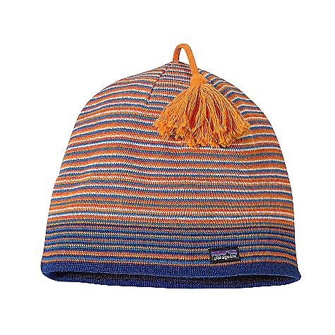 Ski Patagonia Lightweight Ski Hat DECENT FEATURES of the Patagonia Lightweight Ski Hat Made of a warm, moisture-wicking nylon/wool blend Groovy tassel Single-layer, fine knit for a soft hand (2.6 oz) 74 g The SPECS 55% nylon/45% chlorine-free merino wool Lining: 5.2-oz 100% polyester fleece This product can only be shipped within the United States. Please don't hate us. - $35.00