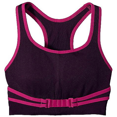 Fitness Free Shipping. Patagonia Women's Switchback Bra DECENT FEATURES of the Patagonia Women's Switchback Bra Soft, textured recycled polyester/nylon/spandex blend provides next-to-skin comfort and superior wicking Easy on/off wrap design offers an adjustable, stable fit around the ribcage Wide, nonslip straps relieve pressure on shoulders Outer and inner layers wick moisture for quick-dry comfort Integrated knit pattern offers compression and motion control Tag less for itch-free comfort The SPECS Formfitting Weight: 3.7 oz / 105 g 10.8-oz 87% all-recycled polyester 9% nylon 4% spandex This product can only be shipped within the United States. Please don't hate us. - $59.00