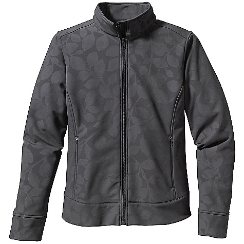 Free Shipping. Patagonia Women's Demitasse Jacket DECENT FEATURES of the Patagonia Women's Demitasse Jacket Windproof Polyester/Spandex Blend with Embossed Design on Face and Cozy Interior Elegant Stand-Up Collar with Full-Length Front Zip Two On-Seam Handwarmer Pockets Princess Seaming, Front and Back, for Contouring and fit Curved Hem Falls At Hip The SPECS Slim fit Weight: 18.3 oz / 519 g 9.1 oz 94% Polyester, 6% Spandex with a Windproof Laminate and a Microfleece Back This product can only be shipped within the United States. Please don't hate us. - $159.00