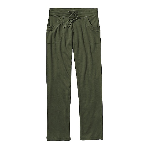 Free Shipping. Patagonia Women's Brushed Vitaliti Pant DECENT FEATURES of the Patagonia Women's Brushed Vitaliti Pants Plaited Organic Cotton/Tencel/Recycled Polyester Blend is Soft and Naturally Wrinkle Resistant Wide Waistband has Internal Elastic, and Drawcord for Secure fit Front Drop-In Pockets Updated Styling The SPECS Regular fit Weight: 12 oz / 340 g 7 oz 47% Organic Cotton, 39% Tencel, 14% Recycled Polyester This product can only be shipped within the United States. Please don't hate us. - $75.00
