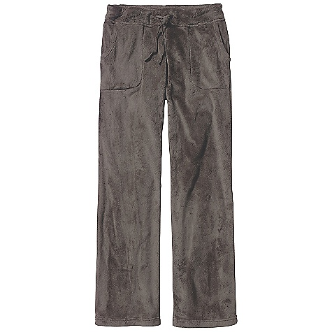 On Sale. Free Shipping. Patagonia Women's Plush Synchilla Pant DECENT FEATURES of the Patagonia Women's Plush Synchilla Pant Deep-pile fleece is soft and comfortable Wide waistband has internal elastic and a drawcord for secure fit Front-patch pockets Flattering asymmetric rear yoke detail Regular fit, low rise, straight leg The SPECS 9.7-oz 100% polyester deep-pile double-faced fleece Inseam: 32in. Weight: 16.2 oz / 459 g This product can only be shipped within the United States. Please don't hate us. - $50.99
