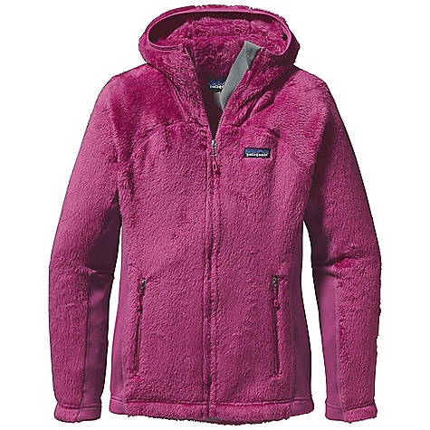 On Sale. Free Shipping. Patagonia Women's R3 Hiloft Hoody DECENT FEATURES of the Patagonia Women's R3 Hiloft Hoody Extremely warm and superlight, high-loft directional knit provides maximum warmth-to-weight ratio, wicks moisture and dries fast Polartec Power Stretch fleece panels provide great fit and durability in high-wear areas Microfleece-lined collar, cuffs and hem Internal zippered chest pocket for quick-access items Adjustable drawcord hem Drawcord hem The SPECS Regular fit Weight: 14.9 oz / 422 g Body: 7.4-oz Polartec Thermal Pro 98% polyester (70% recycled), 2% spandex Side Panels: 6.6-oz Polartec Power Stretch 88% polyester (60% recycled), 12% spandex Pockets: 4.9-oz 95% polyester/5% spandex This product can only be shipped within the United States. Please don't hate us. - $121.99