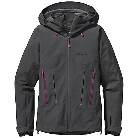 Free Shipping. Patagonia Women's Super Alpine Jacket DECENT FEATURES of the Patagonia Women's Super Alpine Jacket New Gore-Tex Pro fabric delivers the same trusted levels of uncompromised, durable waterproofness, but with an even better range of breathability Helmet-compatible Optimal Visibility Hood with laminated visor for good visibility in poor conditions Touch Point System with embedded cord locks in hood and hem for quick-and-easy adjustment Gusseted underarm panels let you reach without raising the body of the jacket Harness-and pack-compatible Pressed Pleat Pockets increase capacity without adding seams Supple, watertight Slim Zips are laminated in place to reduce bulk Pleated Gasket Dry Cuffs provide a tight, low-profile wrist seal The SPECS Regular fit Weight: 17.6 oz / 499 g 3-layer, 3.8-oz, 40-denier 100% nylon Gore-Tex Pro fabric Reinforcement: 3-layer, 4.9-oz, 150-denier 100% nylon Gore-Tex Pro fabric Shell and reinforcements have a DWR (durable water repellent) finish This product can only be shipped within the United States. Please don't hate us. - $599.00