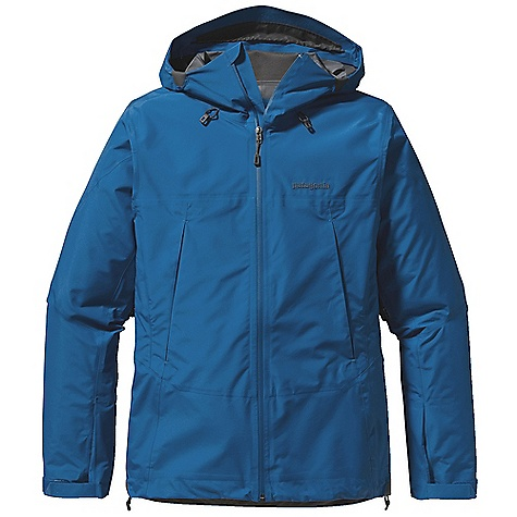 Free Shipping. Patagonia Men's Super Pluma Jacket DECENT FEATURES of the Patagonia Men's Super Pluma Jacket New Gore-Tex Pro fabric delivers the same trusted levels of uncompromised, durable waterproofness, but with an even better range of breathability Helmet-compatible Optimal Visibility Hood with laminated visor for good visibility in poor conditions Touch Point System with embedded cord locks in hood and hem for quick-and-easy adjustment Gusseted underarm panels let you reach without raising the body of the jacket Harness-and pack-compatible Pressed Pleat Pockets increase capacity without adding seams Supple, watertight Slim Zips are laminated in place to reduce bulk Low profile gusset cuffs create a tight wrist seal The SPECS Regular fit Weight: 15.1 oz / 428 g 3-layer, 3.2 oz, 40-denier 100% nylon Gore-Tex Pro fabric with a DWR (durable water repellent) finish This product can only be shipped within the United States. Please don't hate us. - $549.00