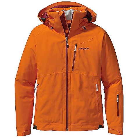 Snowboard On Sale. Free Shipping. Patagonia Women's Insulated Powder Bowl Jacket DECENT FEATURES of the Patagonia Women's Insulated Powder Bowl Jacket Durable 2-layer polyester Gore-Tex fabric for durably waterproof/breathable and windproof protection strategically placed combination of 100-g and 60-g Thermo green insulation stays warm even when wet Removable, helmet-compatible, 2-way-adjustable hood with laminated visor for optimal visibility in bad conditions tall collar protects neck and face even with hood down Slim Zip installation with watertight coated zippers reduce bulk and weight; pit zips quickly release heat low-profile cuff with pleated gusset secures over or under gloves Fully featured, adjustable powder skirt with webbing loop at center back connects to any Patagonia Snow pants Zippered pockets: two hand warmers one chest which includes secure media pocket with cable routing one forearm one interior drop-in and one interior stash pocket RECCO avalanche rescue reflector embedded in back of neck The SPECS Regular fit Weight: 35.5 oz / 1006 g 2-layer, 4.3-oz 150-denier 100% polyester Gore-Tex fabric with a DWR (durable water repellent) finish Lining: 2-oz 100% polyester plain weave Powder Skirt: 3.5-oz 91% eco polyester and 9% spandex Insulation: strategically placed blend of 100-g and 60-g Thermo green 100% polyester (90% recycled) This product can only be shipped within the United States. Please don't hate us. - $286.99