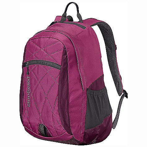 Entertainment On Sale. Free Shipping. Patagonia Women's Violeta Pack DECENT FEATURES of the Patagonia Women's Violeta Pack Torso length and airflow-mesh shoulder straps designed specifically for women Generous main compartment with drop pockets for quick organization on the go Interior padded laptop sleeve is raised off the ground to protect laptop from impact sleeve secures with a buckle closure and this compartment also doubles as an insulated hydration reservoir holder complete with tube port Internal organization has plenty of options for electronics and supplies, along with a clip to secure keys Exterior stash pocket for quick access to essentials Micro fleece-lined pocket for sunglasses and electronics stretch woven pockets accommodate a wide range of water bottle shapes and sizes Quilting on front panel embroidered text logo The SPECS Weight: 16 oz / 454 g Volume: 1220 cubic inches / 20 liter Body: 420-denier 100% nylon oxford plain weave Base: 840-denier 100% ballistics nylon Lining: 200-denier 100% polyester Stretch-mesh pockets: 100% nylon All treated with a Deluge DWR (durable water repellent) finish This product can only be shipped within the United States. Please don't hate us. - $43.99