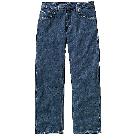 On Sale. Free Shipping. Patagonia Men's Relaxed Fit Jean DECENT FEATURES of the Patagonia Men's Relaxed Fit Jean Durable organic cotton denim 5-pocket-jeans styling Metal-shank closure and zip fly The SPECS Relaxed fit Weight: 29.5 oz / 836 g Inseam: short: 30in., regular: 32in., long: 34in. 13.5-oz 100% organic cotton denim This product can only be shipped within the United States. Please don't hate us. - $69.99