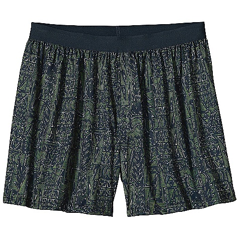 Patagonia Men's Silkweight Print Boxer DECENT FEATURES of the Patagonia Men's Silkweight Print Boxer Silk weight polyester jersey is smooth and comfortable against skin Brushed elastic waistband is soft and comfortable Self-fabric, fully functional fly Tag less for itch-free comfort The SPECS Regular fit Weight: 3 oz / 85 g 3.4-oz, 100% polyester (50% recycled) jersey with Polygiene permanent odor control This product can only be shipped within the United States. Please don't hate us. - $32.00