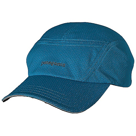 Patagonia Air Flow Cap DECENT FEATURES of the Patagonia Air Flow Cap Ultra lightweight airflow mesh allows for incredible breath ability while maintaining 15-UPF Full-length brim provides plenty of shade and has a subtle hit of reflectivity Adjustable rear buckle with elastic for snug fit The SPECS Adjustable fit Weight: 2.1 oz / 60 g 3.2-oz 100% polyester mesh with 15-UPF sun protection and Gladiodor odor control for the garment This product can only be shipped within the United States. Please don't hate us. - $29.00
