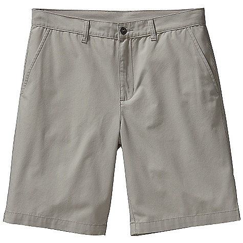 Free Shipping. Patagonia Men's All-Wear 10IN Short DECENT FEATURES of the Patagonia Men's All-Wear 10IN Short Lightweight-yet-durable washed organic cotton Made of a lightweight and durable washed organic cotton fabric Shorts with flat-front chino styling zip fly with button closure and belt loops Pockets: Two front drop-ins slant, side entry two welted drop-ins Side-entry, drop-in front pockets Two welted drop-in rear pockets The SPECS Regular fit Inseam: 10in. Weight: 9.8 oz / 277 g 5.2-oz 100% organic cotton canvas This product can only be shipped within the United States. Please don't hate us. - $55.00
