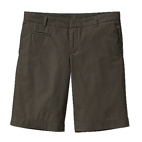 Free Shipping. Patagonia Women's All-Wear Short DECENT FEATURES of the Patagonia Women's All-Wear Short Lightweight organic cotton canvas shorts classic chino styling Shorts have belt loops, zip fly and metal-hook closure Waistband has belt loops Zip fly and metal-hook closure Two front slash pockets welted coin pocket on right front two back single-welt pockets The SPECS Slim fit Low rise Inseam: 10 in. Weight: 9.4 oz / 266 g 5.2-oz 100% organic cotton canvas This product can only be shipped within the United States. Please don't hate us. - $59.00
