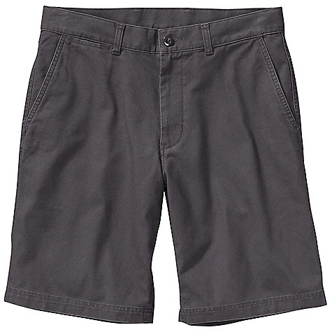 Hunting Free Shipping. Patagonia Men's Duck Short DECENT FEATURES of the Patagonia Men's Duck Short Made of a supple and durable washed organic cotton canvas fabric Shorts with classic flat-front styling belt loops zip fly with button closure Pockets: Two front, slant with side entry two rear welted right rear pocket with button closure Supple yet durable washed organic cotton canvas Slant side-entry front pockets Two welted rear pockets Right rear pocket buttons through for security Now with an updated fit The SPECS Regular fit Weight: 12.4 oz / 351 g Inseam: 10in. 8-oz 100% organic cotton canvas This product can only be shipped within the United States. Please don't hate us. - $59.00