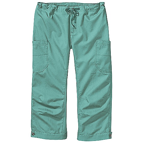 On Sale. Free Shipping. Patagonia Women's Mandala Carpri DECENT FEATURES of the Patagonia Women's Mandala Carpri Lightweight organic cotton canvas Zip fly with metal-button closure drawcord for adjustability Two side drop-in pockets on thigh two back drop-in pockets secure with snapped flaps Cuffed hem with button closure Gusseted crotch and articulated knees for mobility The SPECS Regular fit Weight: 11.1 oz / 314 g Low rise Inseam: 22in. 5.2-oz 100% organic cotton canvas This product can only be shipped within the United States. Please don't hate us. - $41.99