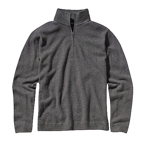 On Sale. Free Shipping. Patagonia Men's Lambswool 1-4 Zip DECENT FEATURES of the Patagonia Men's Lambswool 1/4 Zip Soft and durable lambs wool/nylon blend maintains shape 1/4-zip pullover sweater with stand-up collar and welted antique nickel zipper Rib-knit cuffs, collar and hem Heathered colors The SPECS Regular fit Weight: 15 oz / 425 g 9-gauge 80% lambs wool 20% nylon This product can only be shipped within the United States. Please don't hate us. - $82.99