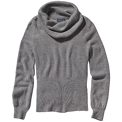 On Sale. Free Shipping. Patagonia Women's Lambswool Cowl Sweater DECENT FEATURES of the Patagonia Women's Lambswool Cowl Sweater Knit from a soft 7-gauge lambswool/nylon blend in a reverse jersey stitch Casual cowl-neck drapes loosely Long sleeves with rib cuffs Wide rib hem Shorter silhouette falls at high hip The SPECS Slim fit Weight: 13.1 oz / 371 g 7-gauge 80% lambswool/20% nylon This product can only be shipped within the United States. Please don't hate us. - $61.99