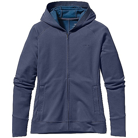 Free Shipping. Patagonia Women's Brushed Vitaliti Full Zip DECENT FEATURES of the Patagonia Women's Brushed Vitaliti Full-Zip Plaited Cotton/Tencel/Recycled Polyester Blend is Soft and Naturally Wrinkle Resistant Full-Zip Hoody Styling Raglan Sleeves and Princess Seaming for Contouring On Seam Front Handwarmer Pockets Hip Length The SPECS Regular fit Weight: 15.1 oz / 428 g 7 oz 47% Organic Cotton, 39% Tencel, 14% Recycled Polyester This product can only be shipped within the United States. Please don't hate us. - $85.00