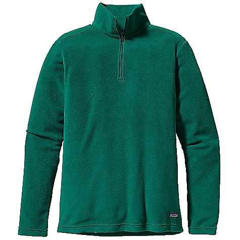 Free Shipping. Patagonia Women's Micro D-Luxe 1-4 Zip DECENT FEATURES of the Patagonia Women's Micro D-Luxe 1/4 Zip Made of recycled polyester micro-fleece Classic zip through stand-up collar Angled side seams for feminine shaping Hip length The SPECS Regular fit Weight: 7 oz / 198 g 4.7-oz 100% polyester (85% recycled) micro-fleece This product can only be shipped within the United States. Please don't hate us. - $59.00
